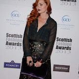WWW.ENTSIMAGES.COM -  Arielle Free  at    Scottish Fashion Awards  at 8 Northumberland London October 9th 2013                                                 Photo Mobis Photos/OIC 0203 174 1069