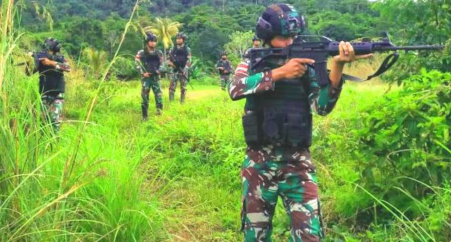 Satgas BKO Apter Hitadipa dan Kelompok Separatis Kontak Senjata di Intan Jaya, 1 Prajurit Gugur