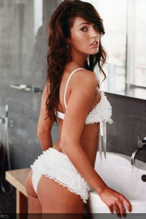 Bombshell Megan Fox really has a one to flaunt! Her shapely butt truley deserves to be in the list.