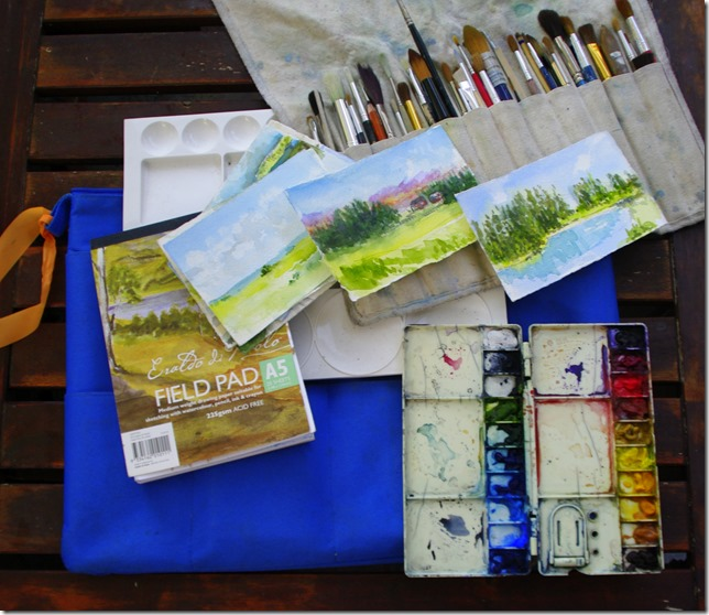 My most comprehensive field Sketching Kit