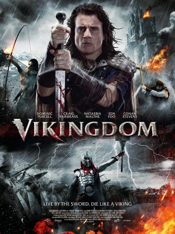 Poster Of English Movie Vikingdom (2013) Free Download Full New Hollywood Movie Watch Online At Alldownloads4u.Com