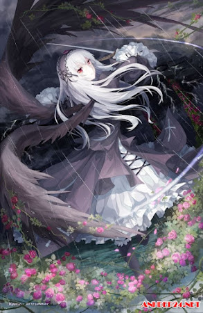Hình nền anime thiên thần đẹp ngây ngất cho điện thoại