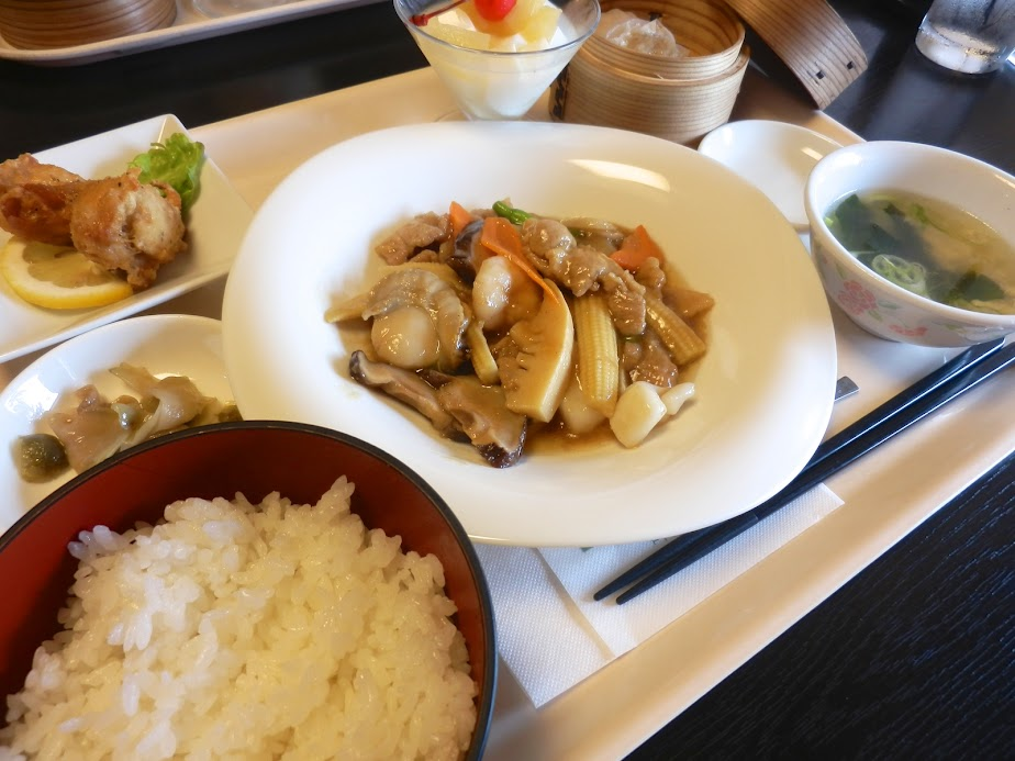 中華料理セット(八宝菜)