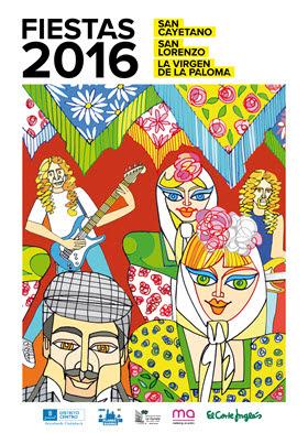 Programación de las fiestas de San Cayetano, San Lorenzo y La Paloma 2016