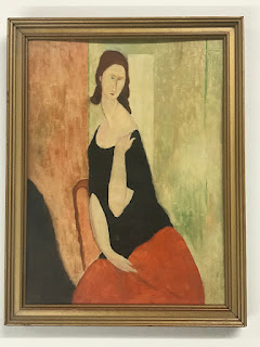 Signed After Modigliani Painting