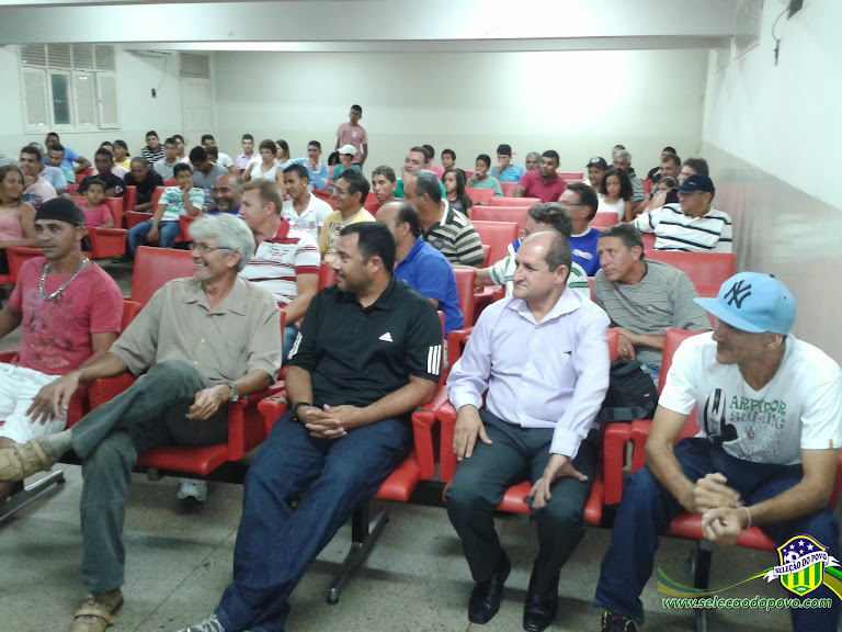 Currais Novos E.C. apresentou o elenco para a 2ª Divisão do Campeonato Potiguar 2013