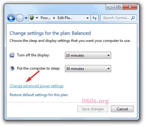 Bạn có biết kích hoạt chức năng Hibernate trong Windows 7 4