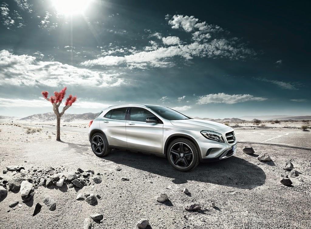 001 2015 Mercedes-Benz GLA-Class Edition 1