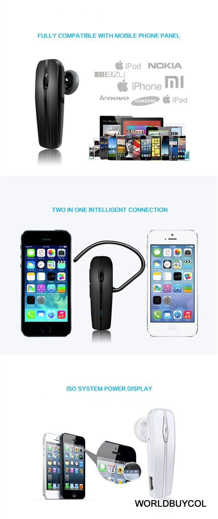 manos libres bluetooth musica iphone android pc tablet Smartphones HTC Mini HTC Mini- Review Properties