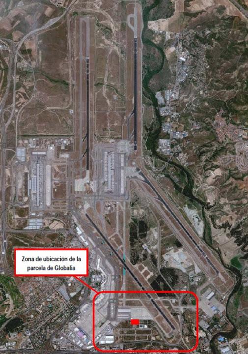 Nuevo hangar en 2017 para el mantenimiento de aviones en el Aeropuerto de Barajas