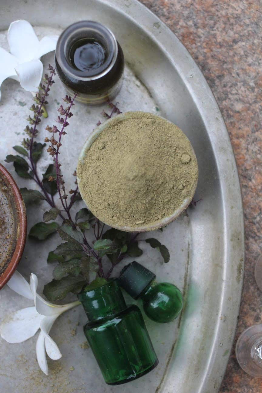 How To Make Your Own Herbal Hair Wash Powder Paticheri