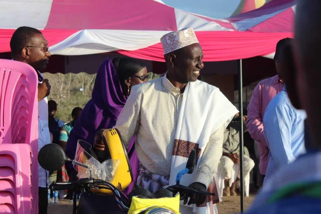 Deputy President William Ruto in Tana River county. PHOTO | ORIGINAL