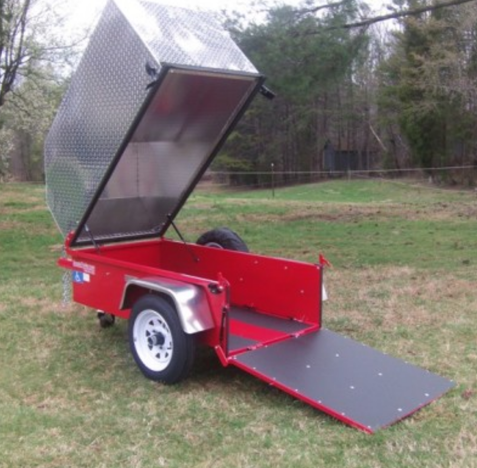 Access Mobility Equipment: Small Enclosed Trailer For