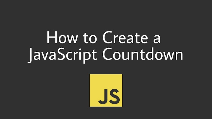 how to create a countdown with javascript in simple steps