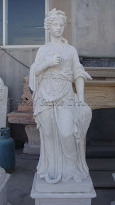 Female, Figure, Interior, Marble, Natural Stone, Statues