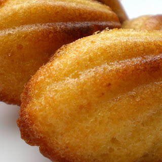 Madeleines with Honey and Lemon.