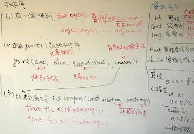 排序程式說明