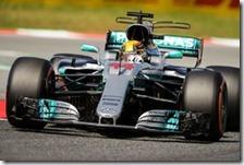 Lewis Hamilton conquista la pole del gran premio di Spagna 2017
