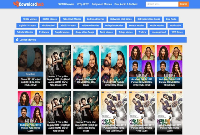 Downloadhub 2021- Download All Movies In HD