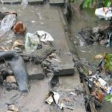 На просьбу убрать хотя бы крупный мусор Посухов не отреагировал, мотивируя тем, что мусор не его.
