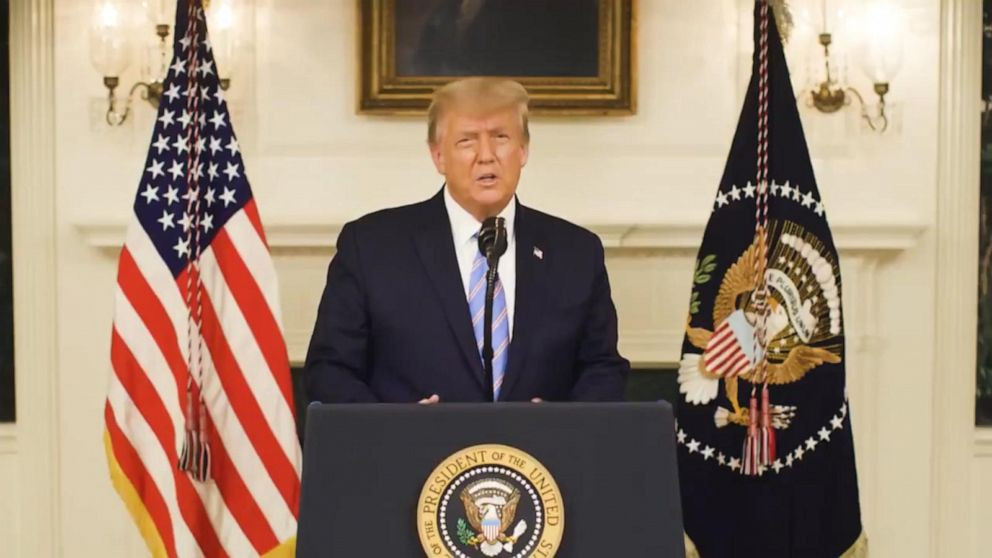 """""""A new administration will be inaugurated on Jan. 20""""  - Donald Trump finally concedes Joe Biden will become the next U.S. president (Video)"""