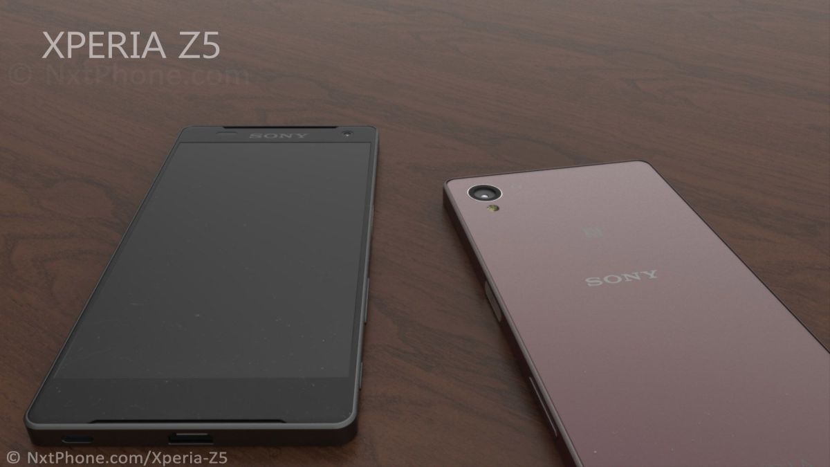 Xperia Z5 với viền mỏng 2