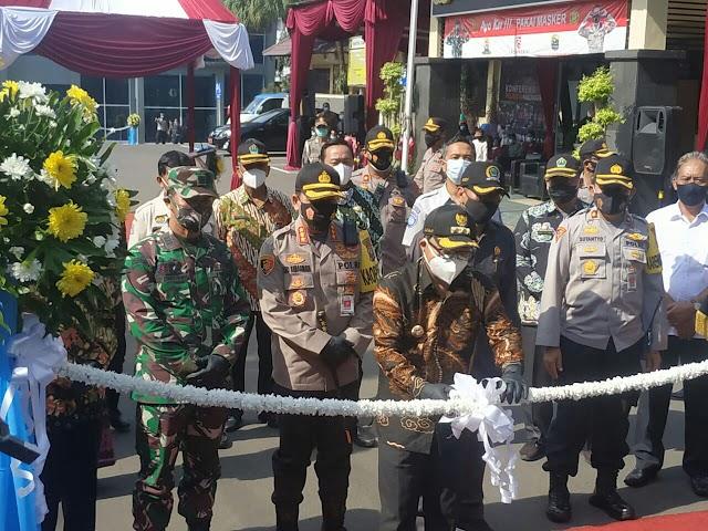 Polresta Makota Resmikan Gedung Layanan Publik Wira Pratama