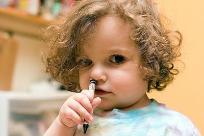 Nose-crayola