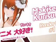 Anime Render Pack 1: Makise Kirisu