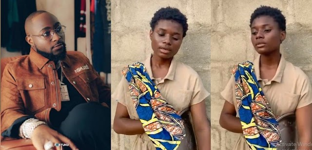Nigerian Celebrities React as 17-year-old hawker with a melodic voice wows many as she sings like Beyonce (Video)