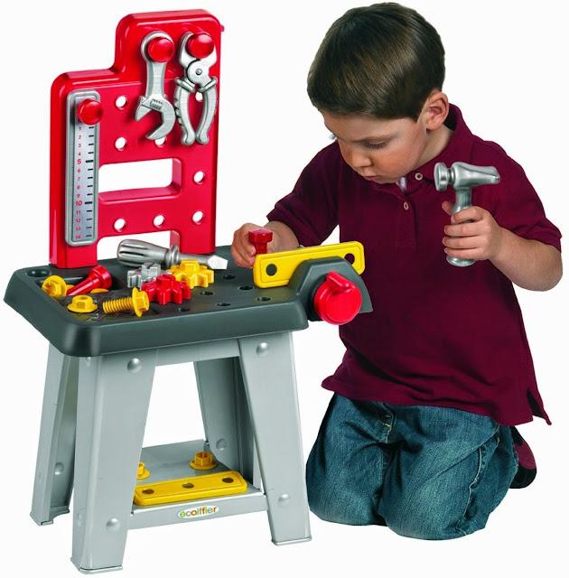 Bộ đồ chơi Bé Tập làm kỹ sư  Eco 2304 màu sắc tươi sáng, hình ảnh phong phú