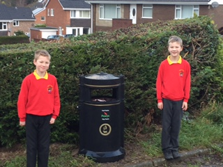 Dog fouling campaign leads to new bin and street clean