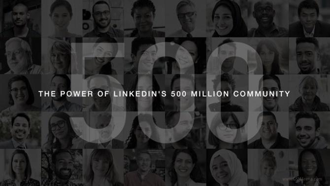 Mạng xã hội LinkedIn của Microsoft cán mốc 500 triệu thành viên