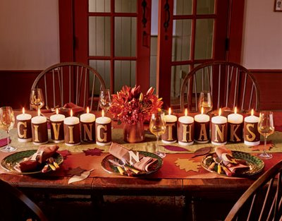 Thanksgiving Candle, Candle Magic