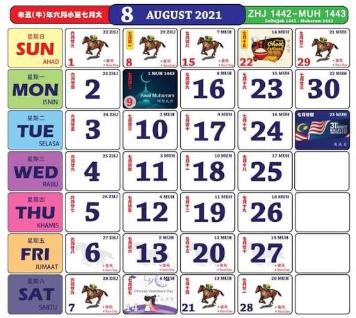 Kalendar 8