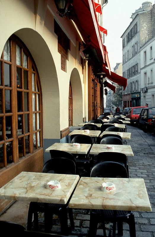 3. Cafe at Montmartre. Early Morning