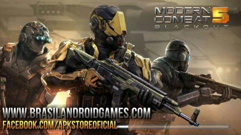 Modern Combat 5: FPS eSports APK DATA