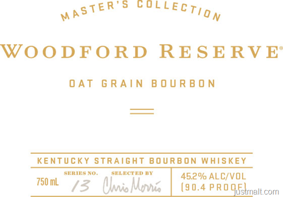 Woodford Reserve Holiday Bottle 2018 & Master's Collection Oat Grain