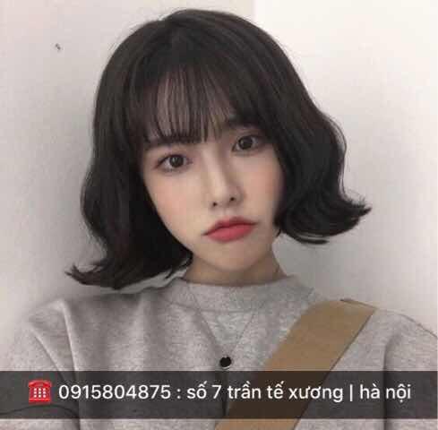 Những kiểu tóc xoăn ngắn đẹp được cá cô gái yêu thích nhất 2018-2019-2020
