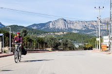 Cycling again, but just to Antalya, before we took a bus to Istanbul.