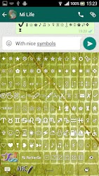 ♥ Keyboard for Whatsapp ☺ APK 3