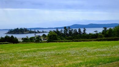 Photo: View from San Juan Island