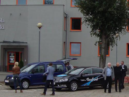 Volkswagen EcoFuel na wystawie Blue Corridor 2012 w Warszawie