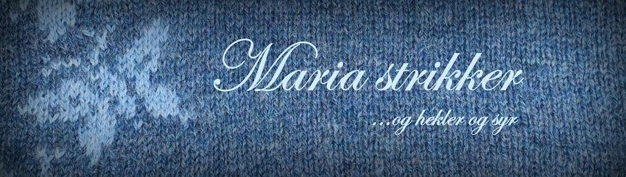 Maria strikker