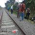 Kecelakaan Maut, 2 Wanita dan Balita Terserempet Kereta di Sukabumi