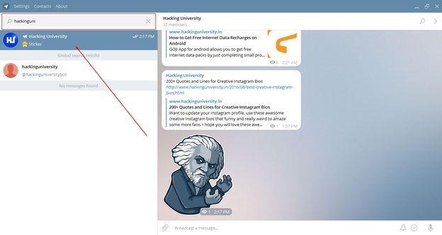 join free telegram channel hackinguniversity
