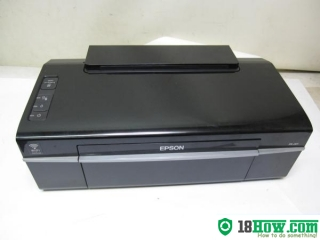 How to reset flashing lights for Epson PX-201 printer