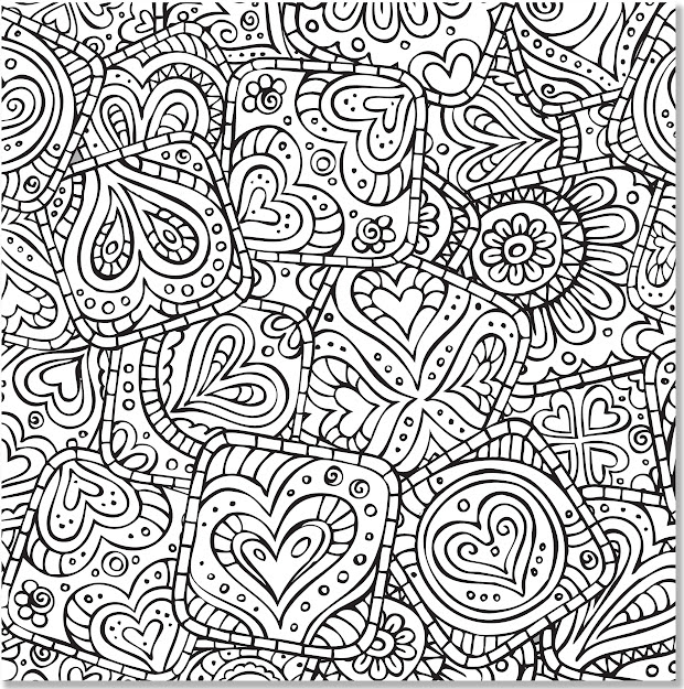 Amazon Doodle Designs Adult Coloring Book  Stressrelieving  Designs Studio  Peter Pauper Press Books