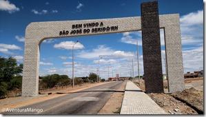Entrada de São José do Seridó