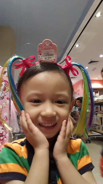 Rambut Baru untuk Raya Aidilfitri 2016